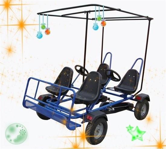 voiture p dales 4 personne p dale go kart avec quadricycle karting id du produit 60148588347. Black Bedroom Furniture Sets. Home Design Ideas