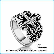 China fashion design wholesale man ring comfort fit 10mm