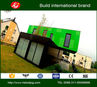Container House log cabin homes