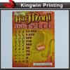 Million Dollar Pull Tab Bingo Tickets Printing Service