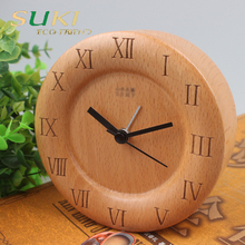 Hot sell wood clock creative clock made in german
