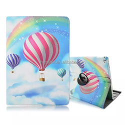 Tablet case super slim pu leather balloon 360 rotating case for ipad pro 12.9 , for ipad pro leather case rotating