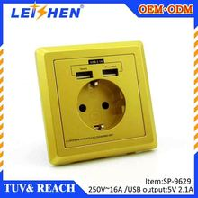 High speed sat wall socket for France, Germany, Poland , Italy