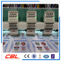 9needle 15 head high speed flat computerized embroidery machine