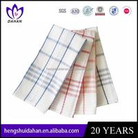 plain cotton kitchen tea towel wholesale