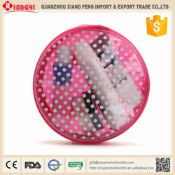 Strong quality round eva beauty travel case