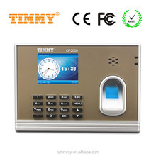 TIMMY fingerprint time attendance system attendance recorder without software for apartment building (OP2000)