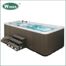 5 people musical hot tub spa cheap freestanding outdoor massage whirlpool acrylic bathtub