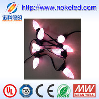 shenzhen cheap price color changing outdoor programmable rain drop Christmas led bulb lights