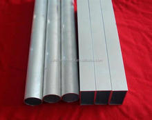 Low price mill finish round and square extruded aluminum tubing