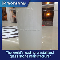 Fireplace Glass / Installation of Artificial Stone / Panel For The Wall