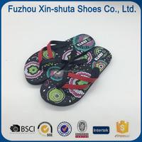 flip flop China soft rubber sole one dollar flip flops