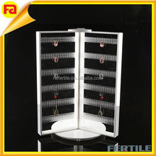 Acrylic earring display wholesale large rotating earrings jewelry display stand