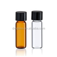 1/2 Dram Amber Glass vial - Screw Cap