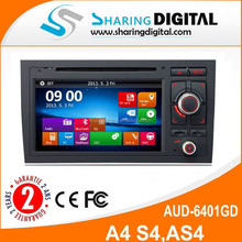 AUD-6401GD 2 Din TDA 7388DVD car player Support GPS/BT built in