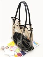 hot sale clear pvc fashion beach bag