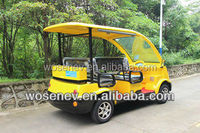 4 seat yellow classic car with high quality,4 seat golf cars