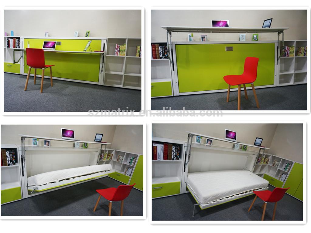 Plegable cama de la pared murphy cama de la pared de la - Cama plegable pared ...