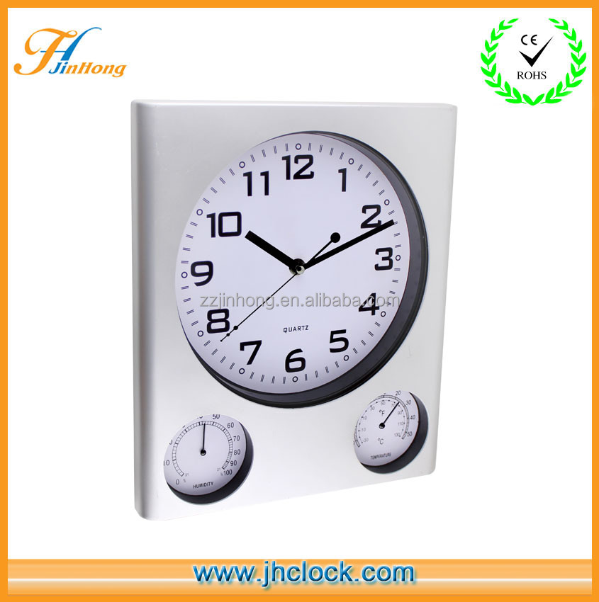 wall clock multifuction wall clock with temperature and humidity