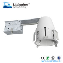 ETL listed North America common line voltage remodel LED recessed lighting cans