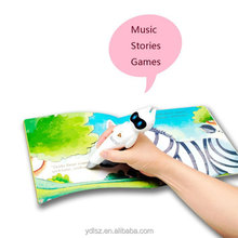 Smart talking pen book for preschool education English Arabic learning translation
