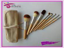 8pcs nylon hair travel kits/sets cosmetic bag private label