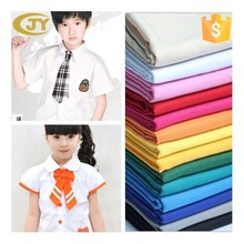 combed tc 45*45 110*76 fabric for shirt, school shirt