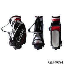GBS-26 Customized Leather Golf Cart Bag Manufacturer
