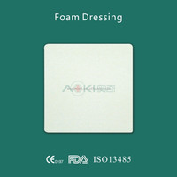 medical foam wound dressing skin care