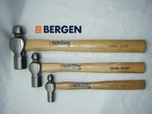 BERGEN Profesional 3 piezas Hickory manejado Ball Pein Martillo Set 8 , 16 y 32 oz