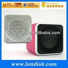 wireless portable stereo mini speaker play music by bluetooth/micro sd card/line in