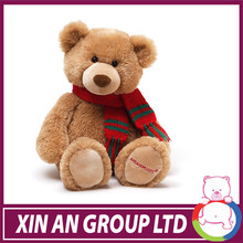 2014 personalizado de peluche de felpa de gran tamaño del oso de peluche