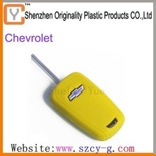 2015 environmental silicone cheaper car key covers for Chevrolet