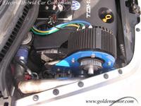 48V/72V 10kw wheel hub motor electric for car