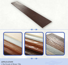 ISO proved Wood grained Reinforced Fiber Cement board siding