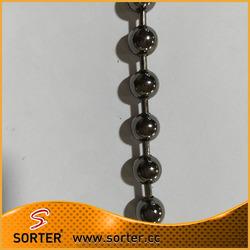 shimmering bead ball string door curtain metal bead curtain