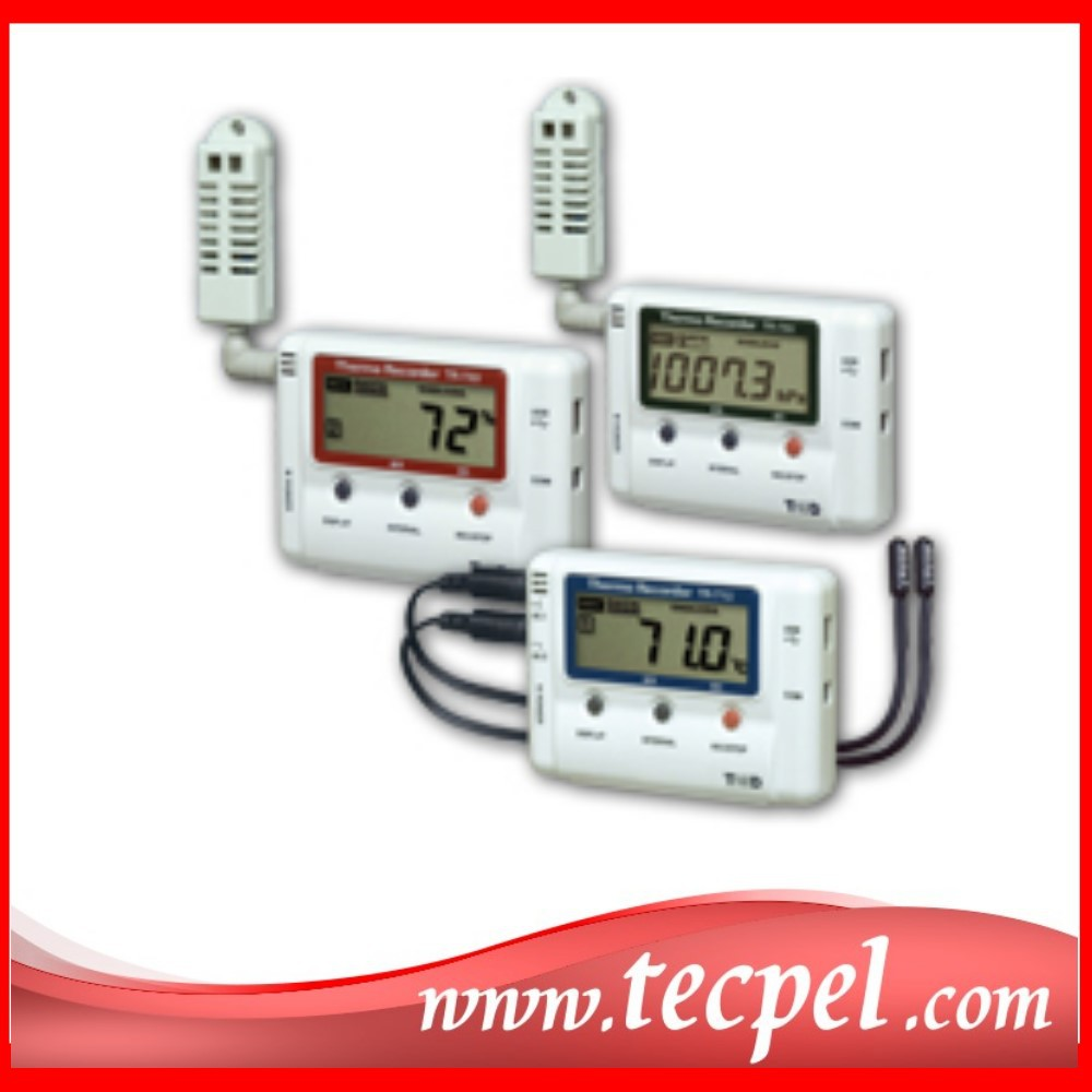 Recording Thermometers Data Logger : Industrial thermometer tr ui temperature data logger