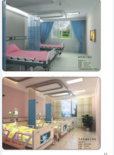 T/C white fabric for hospital children ward beddings