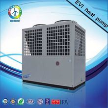 low ambient temperature factory supply heating and cooling air cooled chiller