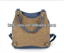wholesale 2013 newest design fashion multifunction backpack bag with belt decoration