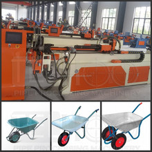 CNC Tube Pipe Bending Machine For Wheel Barrow Trolley Frame/wheelbarrow making machinery