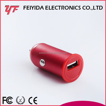 2015 mobile phone accessory new battery, silicone 5V 2.1A mini usb car charger
