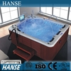 HS-SPA013 best whirlpool hot tub small hot tub sex hot tub spa with wood skirt