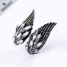 OEM/ODM Wholesale popular color beautiful animal shaped rings