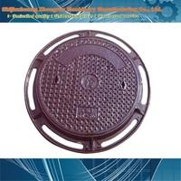 vented manhole cover/standard manhole cover size