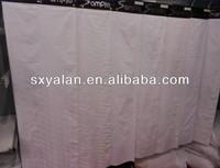 100% pure white floral jacquard design bedding fabric