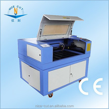 NC-E6040 laser label die cutting machine CNC laser CO2/laser cutting machines used prices