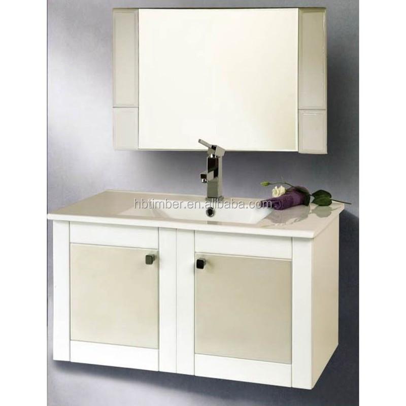 Waterproof mdf bathroom cabinet buy modern bathroom for Waterproof bathroom cabinets