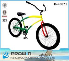 26 inch beach cruiser Chopper bicycles/bike online for sale (PW-B26021)