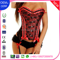 Wholesale And Retail Polk Dot Bows Corsets and Bustiers